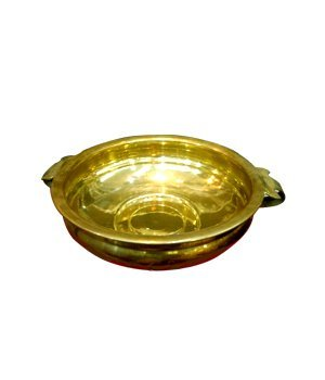 Traditional Brass Decorative Bowl Uruli Showpiece for Home And Office