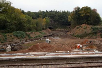 Nunckley Platform and quarry