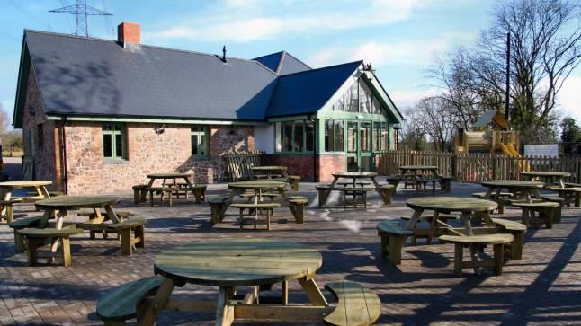Granite's Outdoor seating