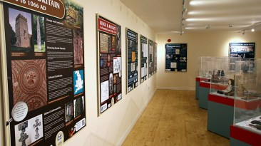 Heritage Room Display boards and exhibits