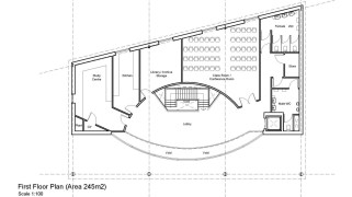 Discovery Centre First Floor Plan