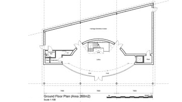 Discovery Centre Ground Floor Plan