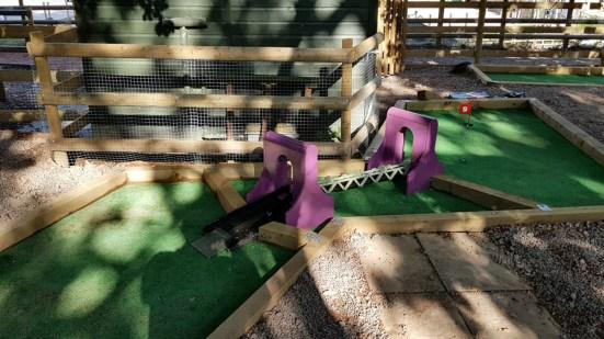 Crazy Golf hole 9