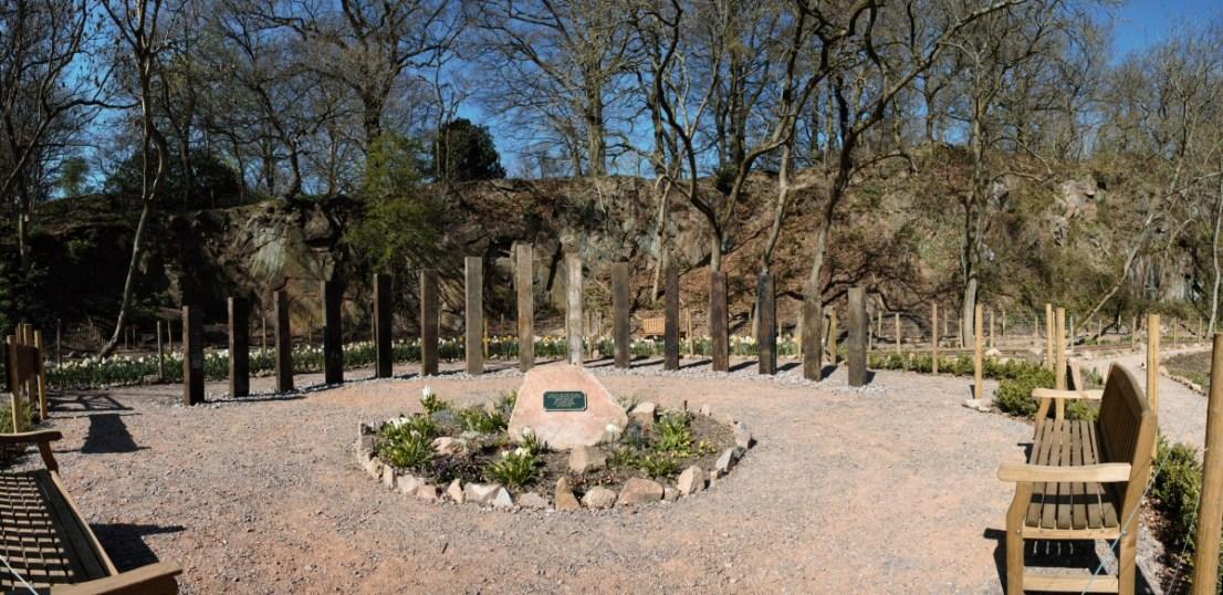 Peace Garden panorama
