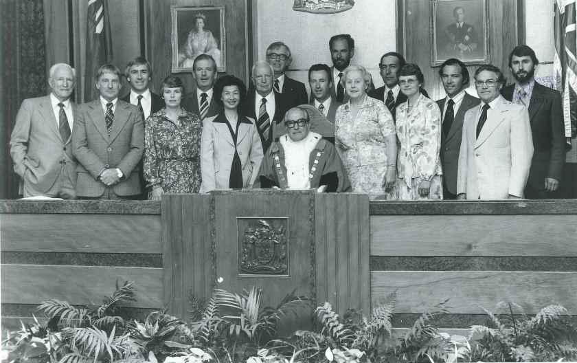 1980 city council inaugural meeting