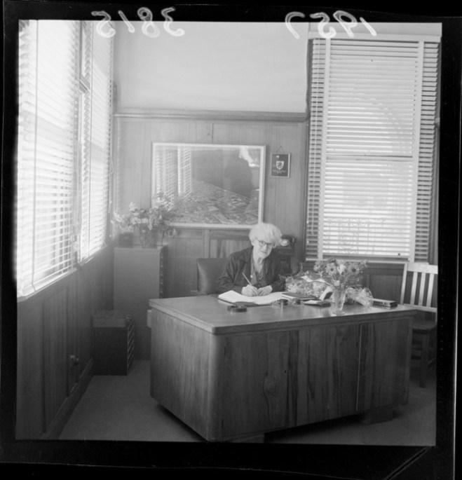 annie h in her office 57