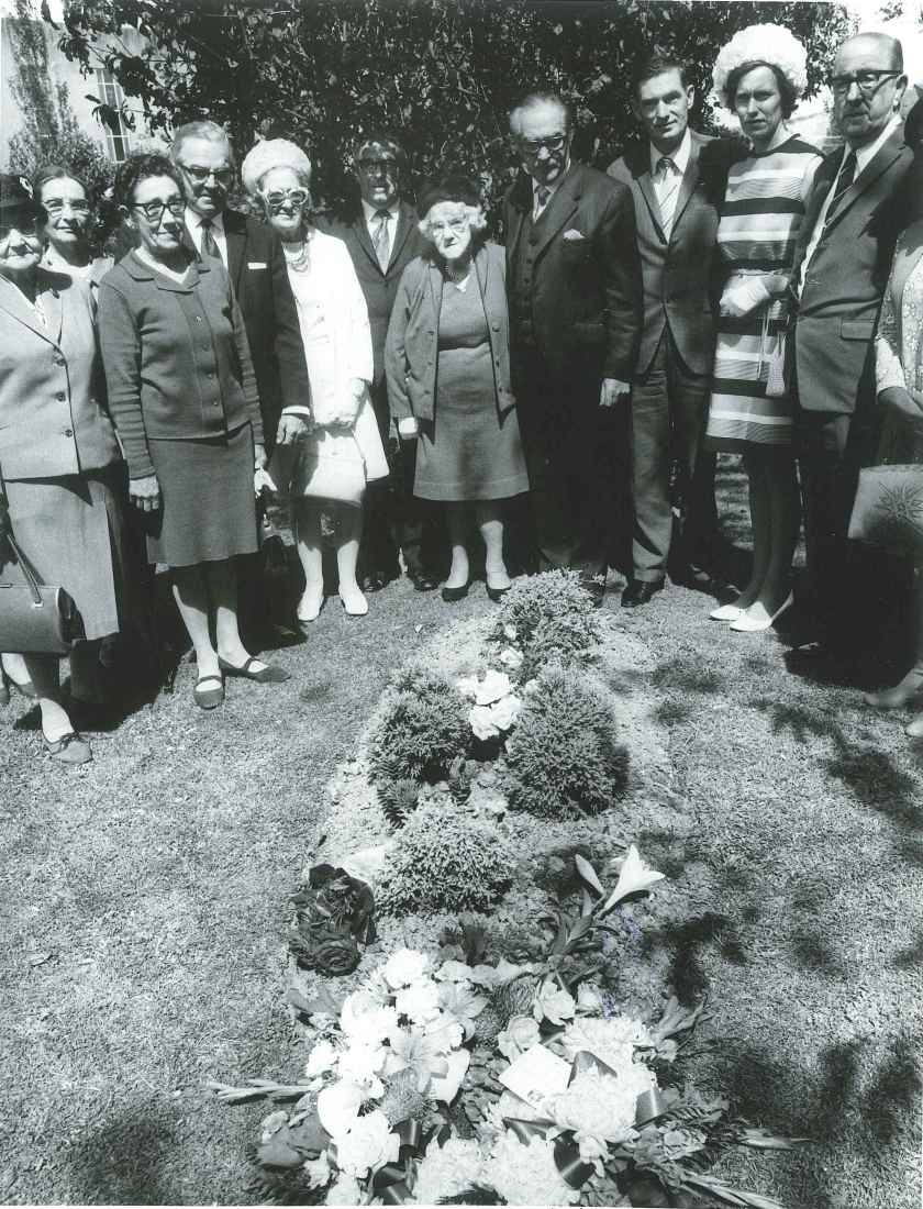 percy dowse grave 1971 anniversary
