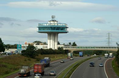 Forton Service Station, M6 motorway, north Lancashire