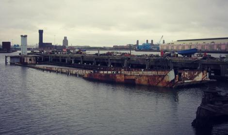 The LCT Landfall (photo credit to Peel Ports Group)