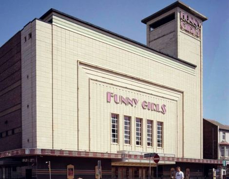 The former Odeon Cinema, now the Funny Girls showbar