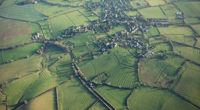Clipston medeival village remains and ridge and furrow (1)