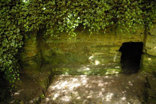 St Robert's Cave, Knaresborough - Photo © Richard Southwell