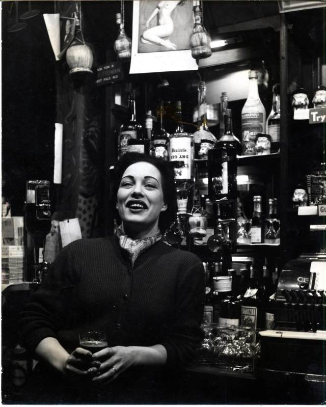 Gina Ware was the proprietor of the legendary Gateways club at 239 Kings Road on the corner of Bramerton Street, Chelsea.