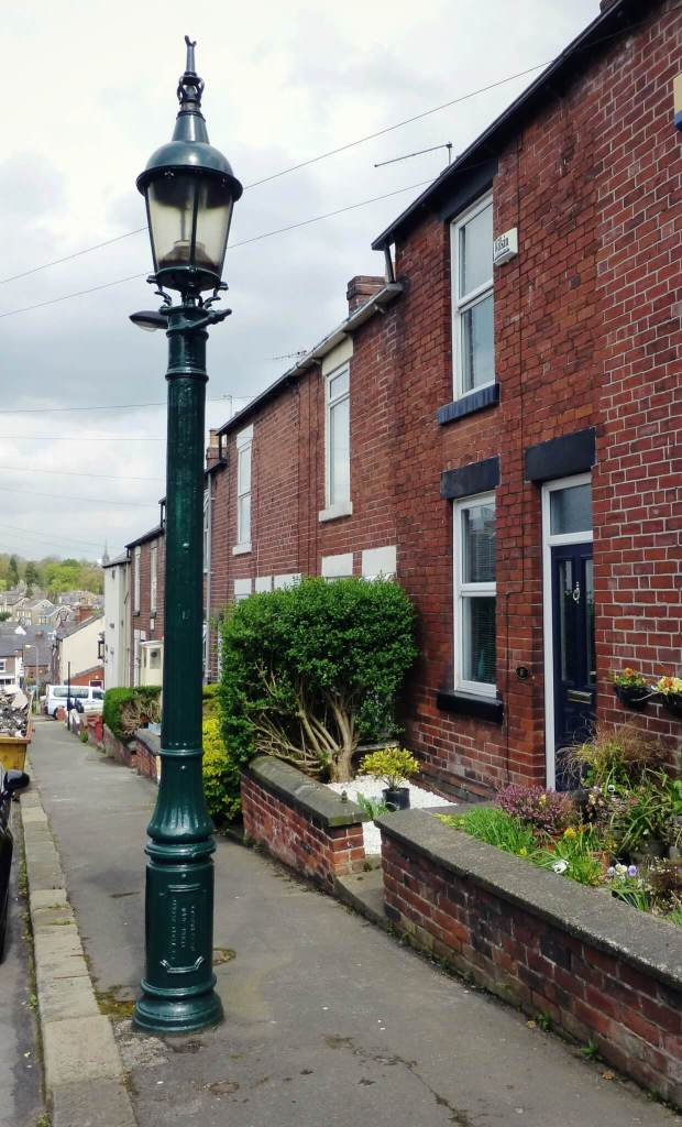 Sewer Gas Destructor Lamp, Stewart Street, Sheffield Copyright HE