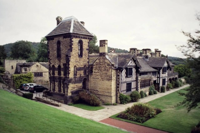 Shibden Hall, Yorkshire  Home to the famed lesbian diarist Anne Lister, born in 1791. She inherited Shibden Hall in 1813 and managed the estate until her death. Her masculine appearance and sometimes eccentric behaviour earned her the nickname of