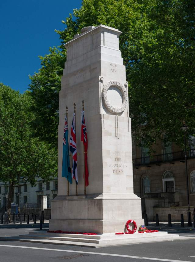 The Cenotaph, Whitehall - Copyright EH Credit Jerry Young