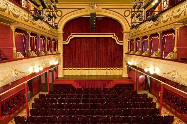 City Varieties Music Hall, Leeds. Photo Tony O'Connell 2