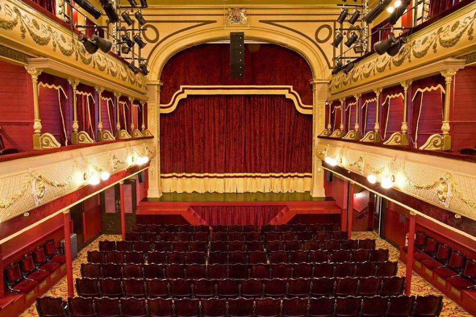 City Varieties Music Hall, Leeds. Photo Tony O'Connell 2