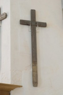 Arthur Wells' cross from the Somme © Historic England/Jerry Young DP176678
