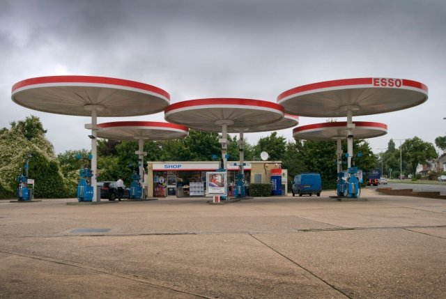 Mobil Petrol Station Canopies