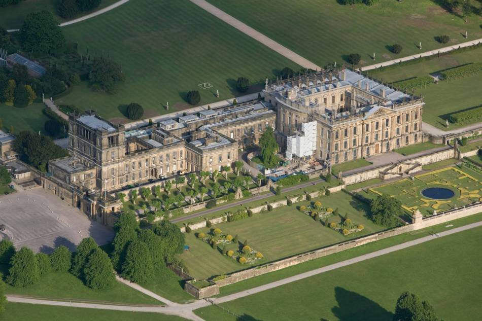 SK260701 SK2670/052 CHATSWORTH HOUSE GD 1303