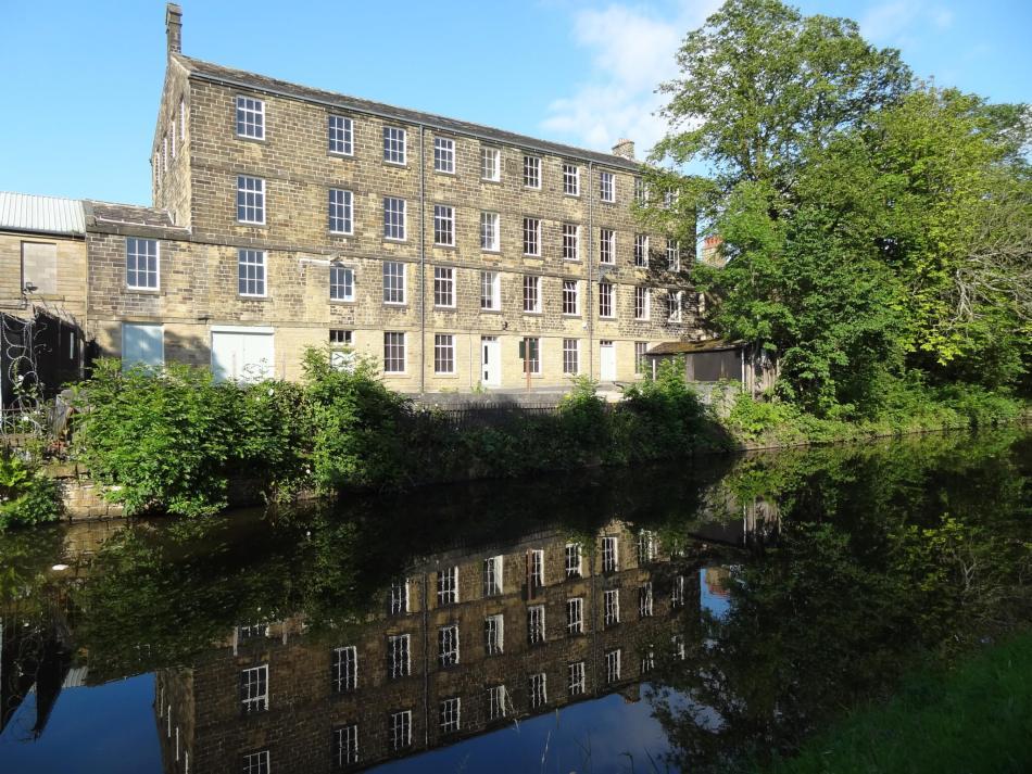 Lomshaye Bridge Mill after