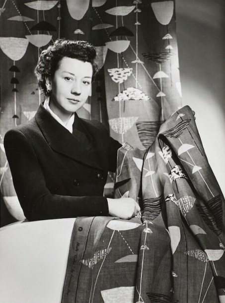 3. Lucienne Day - Calyx Fabric