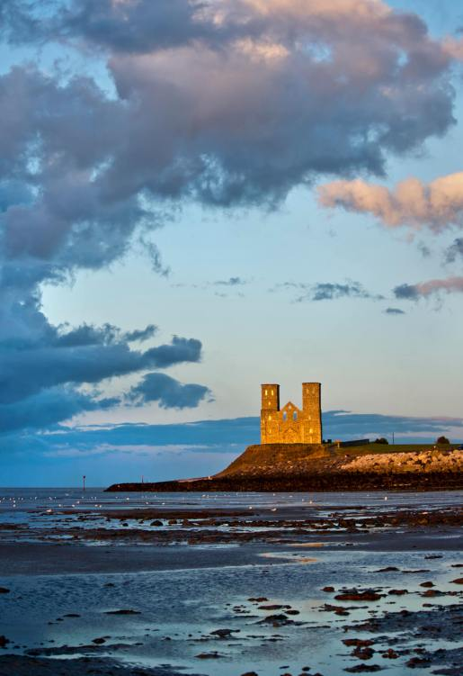 Reculver Towers, Kent.