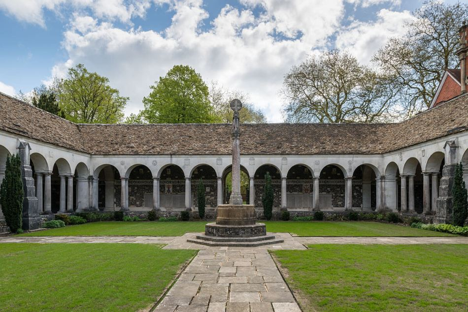 The War Cloister, Winchester College, Hampshire. DP189171
