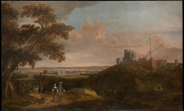 Royal Observatory Greenwich from Crooms Hill, English School BHC1812