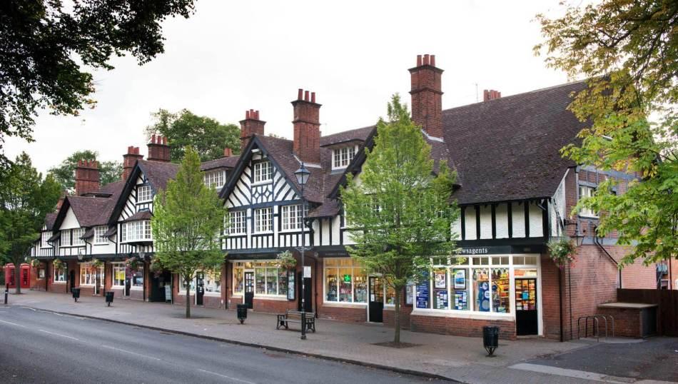 Bourneville Shopping Parade, Birmingham 2015 c Historic England