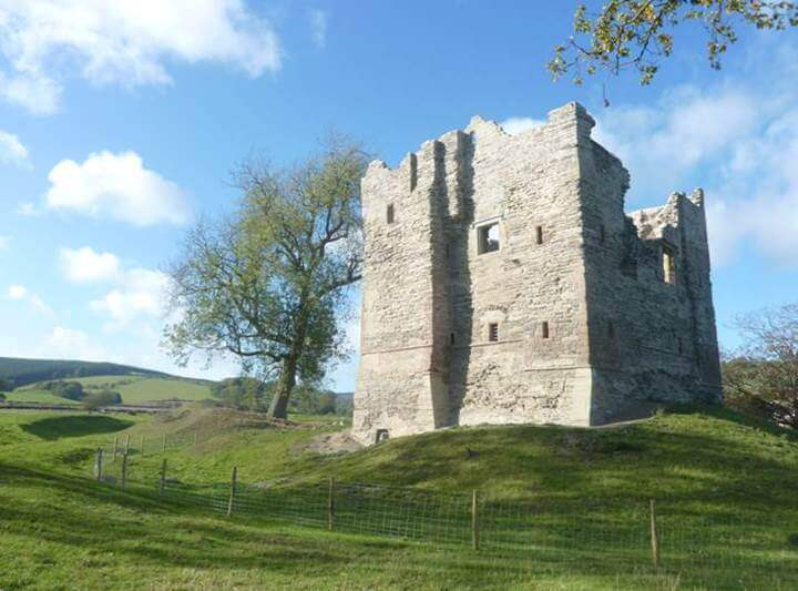 Hopton castle after repairs by Historic England this great tower can now be visited safely and visitors can learn about the cruel civil war seige that took place here.