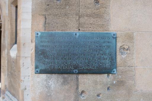 lincolns inn plaque _JY86953