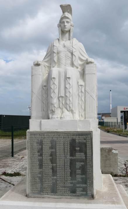 Bevan's Cement Works War Memorial, Northfleet, Kent.