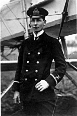 Flight Sub Lieutenant Reginald Alexander John Warneford VC. Public Domain.