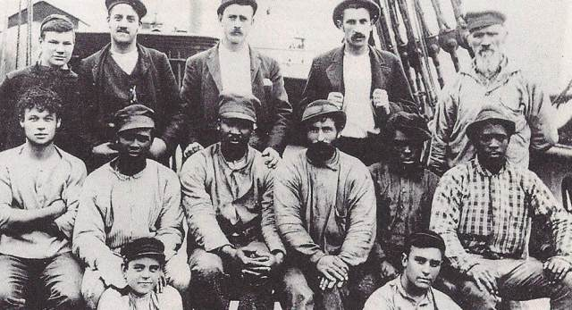 Black seafarers of the First World War. © Royal Museums Greenwich.