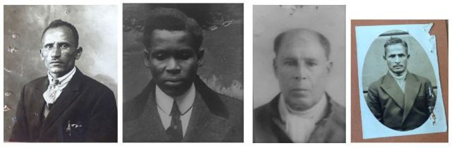Left to right: Mohamed Achmed, Samuel Hinds, Murshed Saleh, Hamid Ali. Images courtesy of Jim Baker.