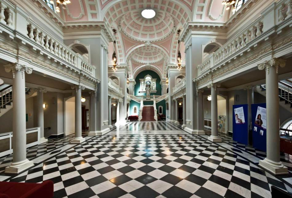 Interior of Woolwich Town Hall
