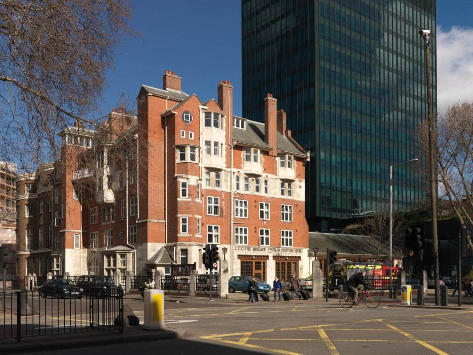 Euston Fire Station, Euston Road, Camden, London