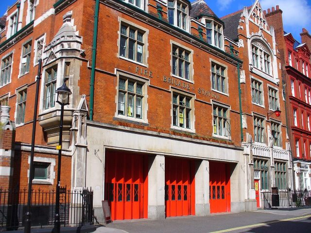 Exterior view of Former Chiltern Street Fire Station