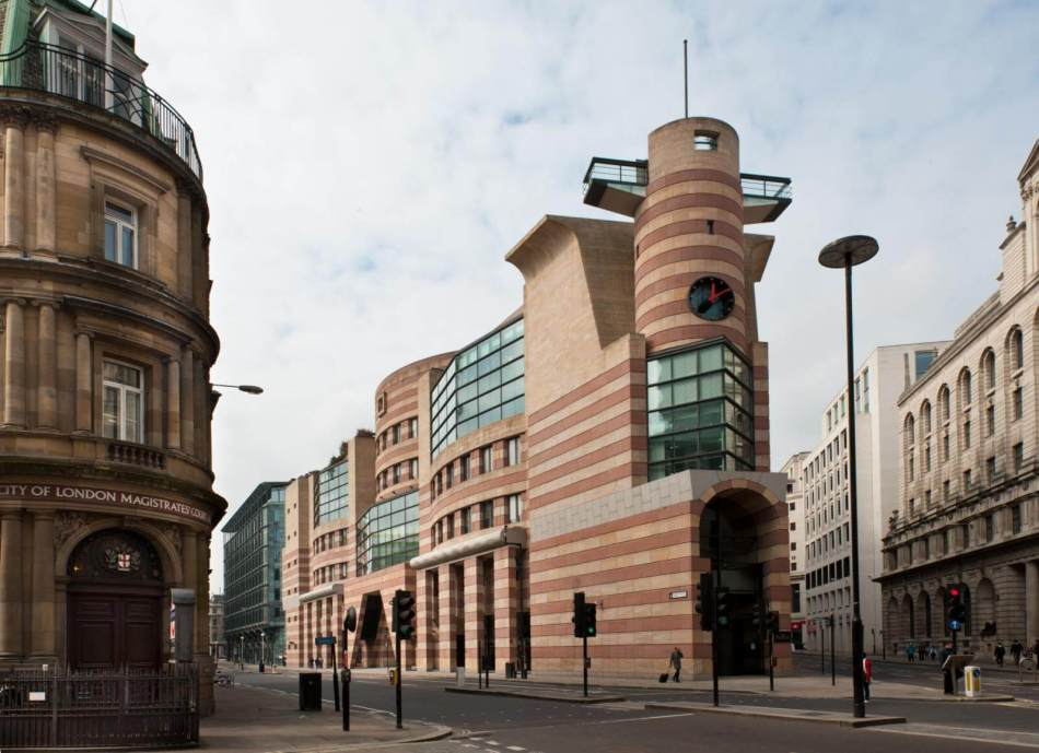 Exterior of No 1 Poultry