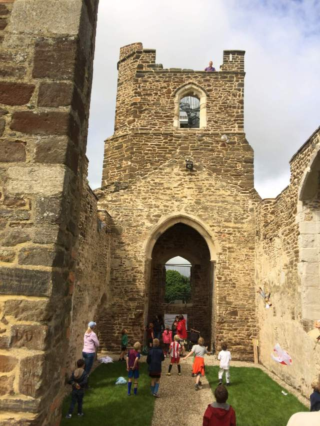 The Church of St Mary the Virgin site being used by the public after restoration © Clophill Lodges