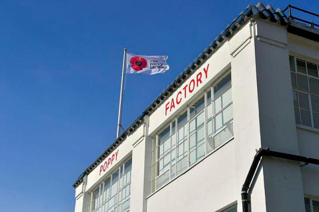 Exterior of the Poppy Factory