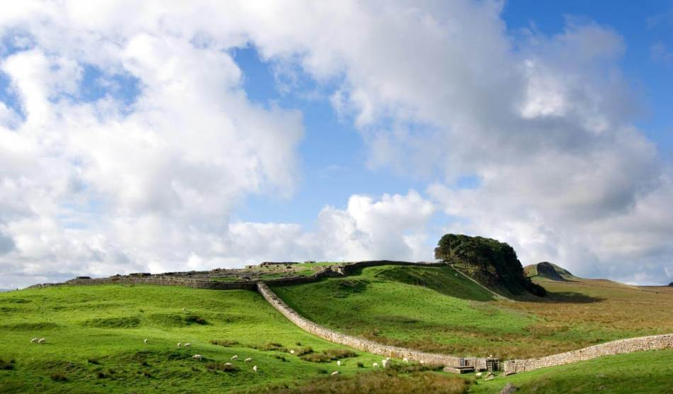 General view of Hadrian's Wall