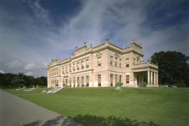 Exterior of Brodsworth Hall
