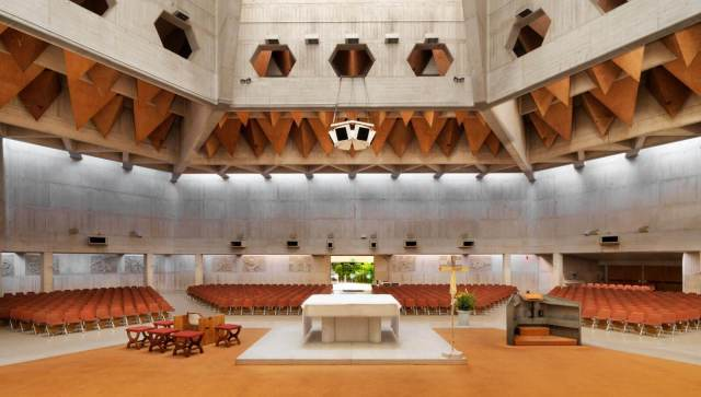 Interior of Clifton Cathedral, Bristol