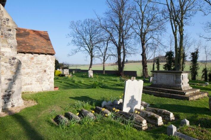 Pip's Graves, the graves of 13 children who died of marsh fever