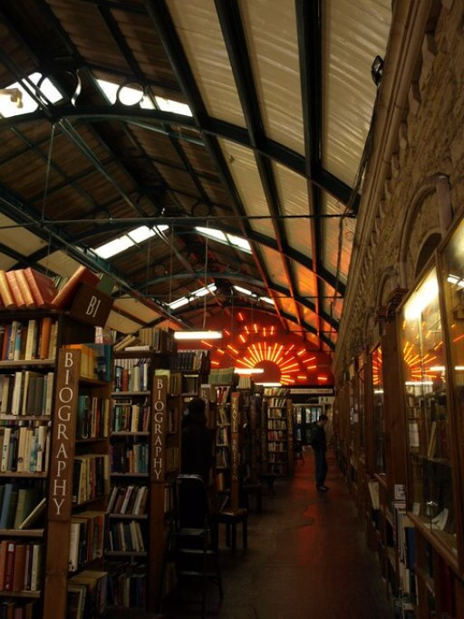 Interior of Barter Books