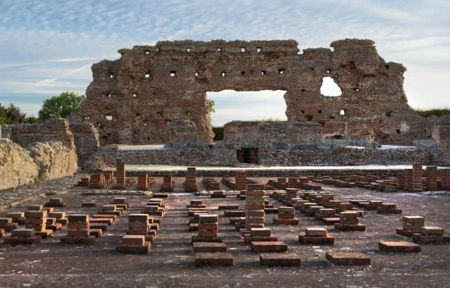 Ruins of Wroxeter Roman City