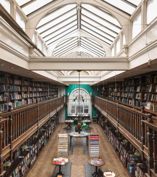Interior of Daunt Books, Marylebone